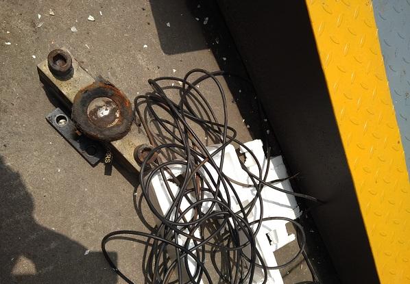 教你如何拆卸电子地磅传感器,称重传感器更换步骤有哪些!