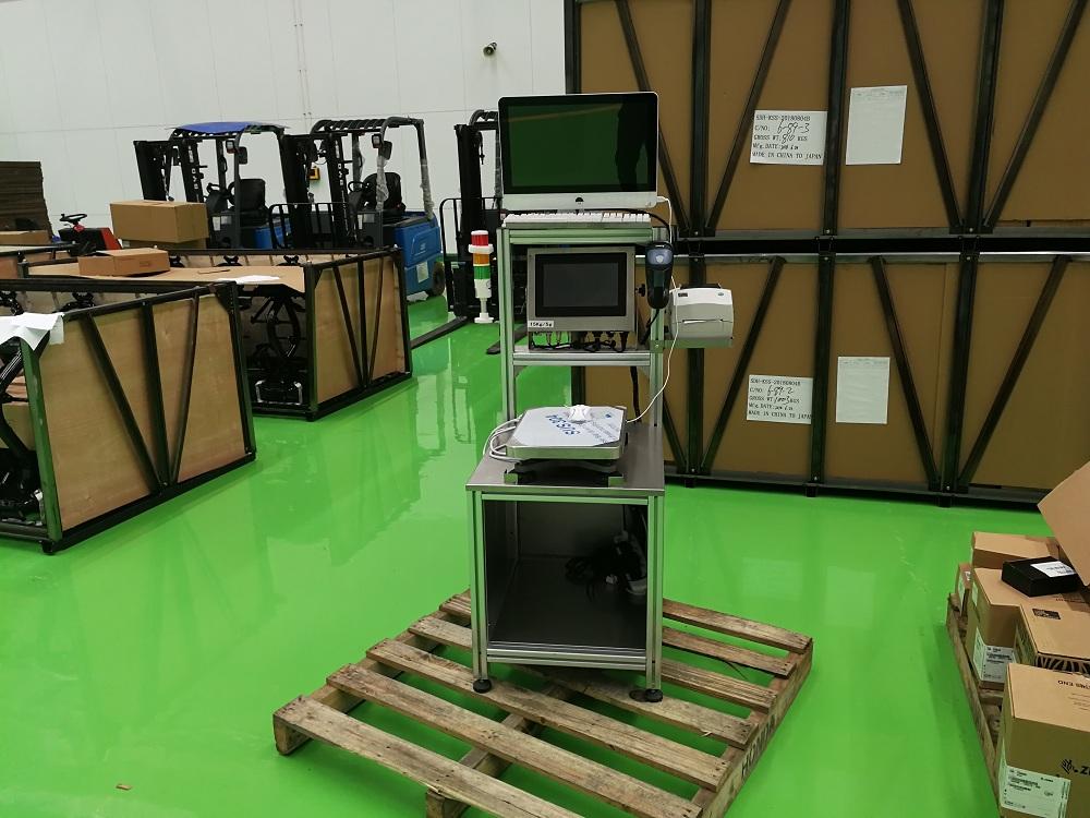 日化行业重量检重秤调试使用成功-亚津衡器
